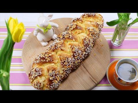 Watteweicher Hefezopf - Osterzopf mit/ohne Rosinen - locker und saftig - Braided Yeast Bun