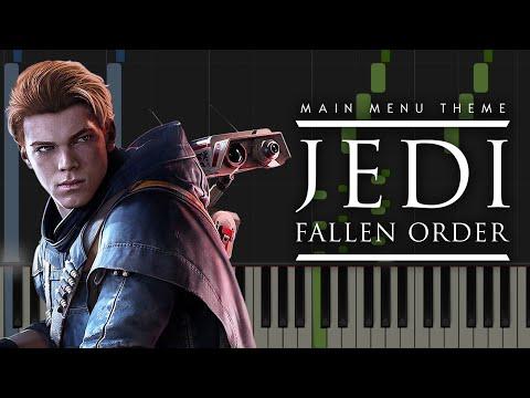 Star Wars Jedi: Fallen Order - Main Menu Theme | Piano Tutorial