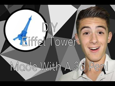 DIY Eiffel Tower with 3d Pen