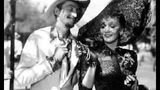 Marlene Dietrich, Seven Sinners / Golden Earrings.