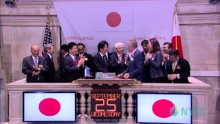 Prime Minister of Japan Shinzo Abe Visits the NYSE