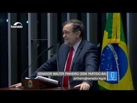"""""""O Congresso Nacional foi uma grande escola"""", diz Pinheiro em tom de despedida"""
