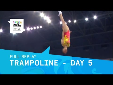Trampoline Gymnastics - Women's Final | Full Replay | Nanjing 2014 Youth Olympic Games