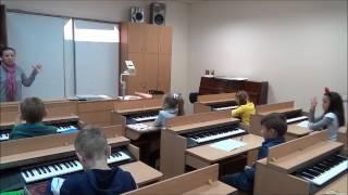 КДМШ №33 урок сольфеджіо №8. Учні 2 класу