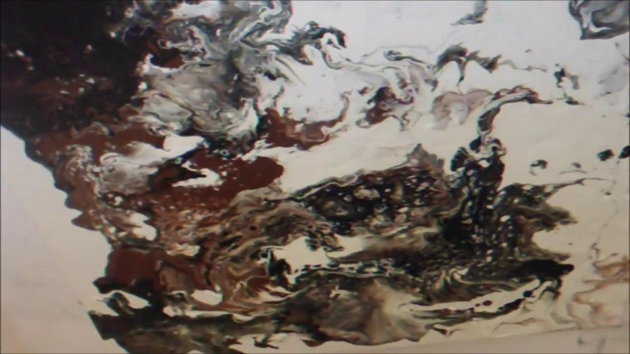 einfach malen abstrakte acrylmalerei flie technik acrylic fluid painting youtube. Black Bedroom Furniture Sets. Home Design Ideas