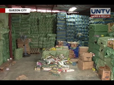 BOC seizes millions of pesos worth of fake soaps, seasonings in Quezon City and Manila