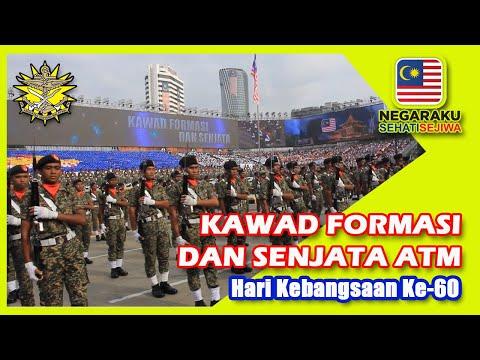 Kawad Formasi ATM - Dataran Merdeka #Merdeka60