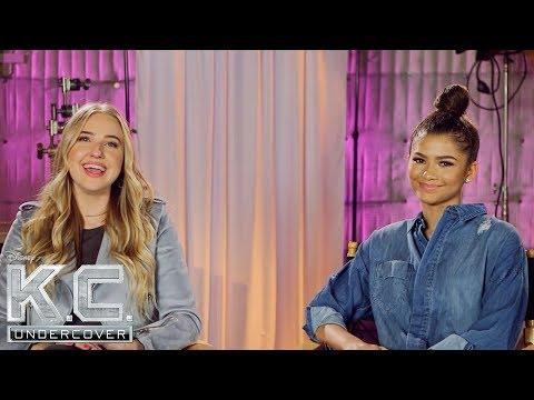 Veronica and Zendaya   K.C. Undercover  Disney Channel