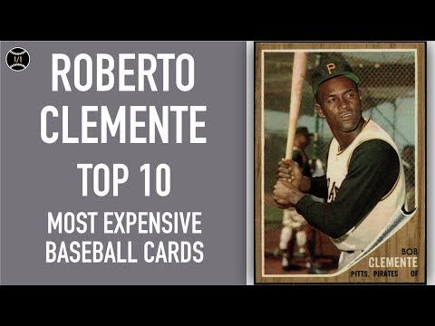 Roberto Clemente: Top 10 Most Expensive Baseball Cards Sold on Ebay (January - March 2019)