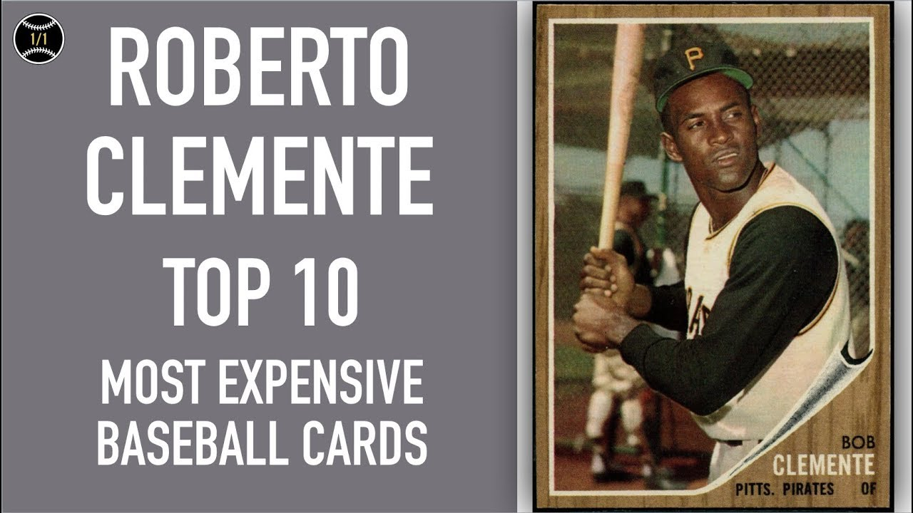 Roberto Clemente Top 10 Most Expensive Baseball Cards Sold On Ebay January March 2019