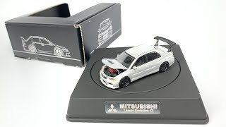 Lamley Preview: The amazing new YES Models 1/64 Mitsubishi Evo (with interchangable parts)