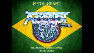 LONDON LEATHERBOYS - Accept Cover (Banda Metalheart)