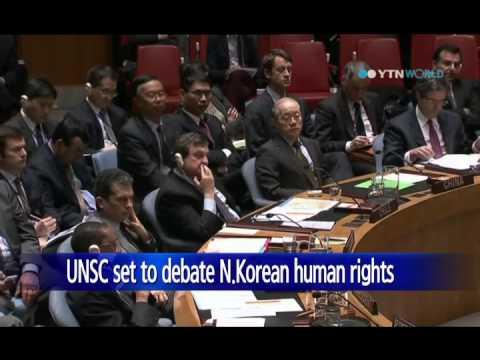UN Security Council to debate North Korea's human rights / YTN