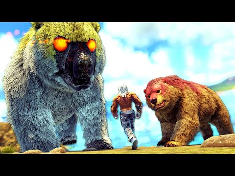 This Creature Summons MASSIVE GIGA BEARS 10 TIMES ITS SIZE!   ARK MEGA Modded #38