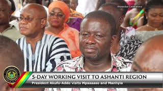 5-Day Working Visit to the Ashanti Region