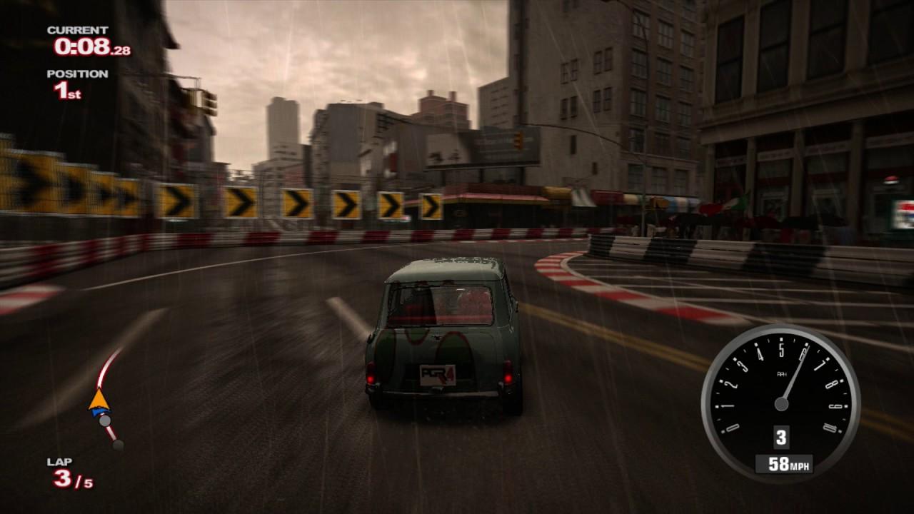 Project Gotham Racing 4 Pgr4 Austin Mini Cooper S Car Gameplay