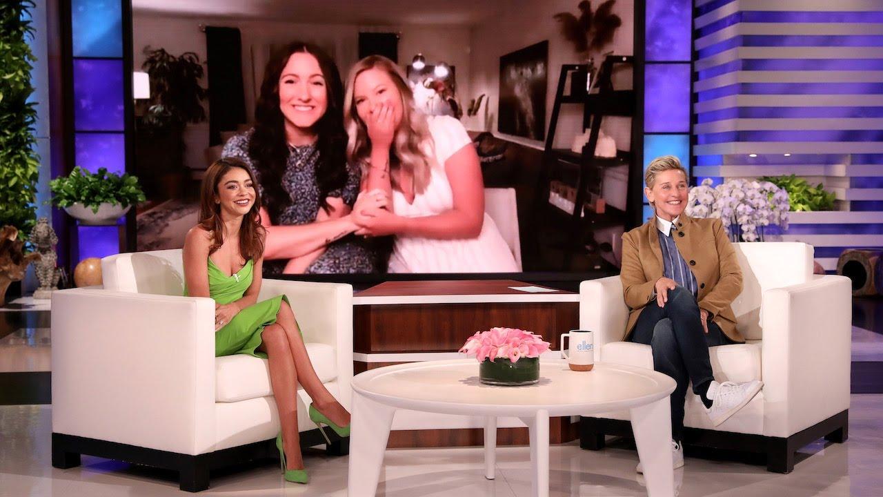 Serendipitous Best Friends Get Surprise from Sarah Hyland and Ellen
