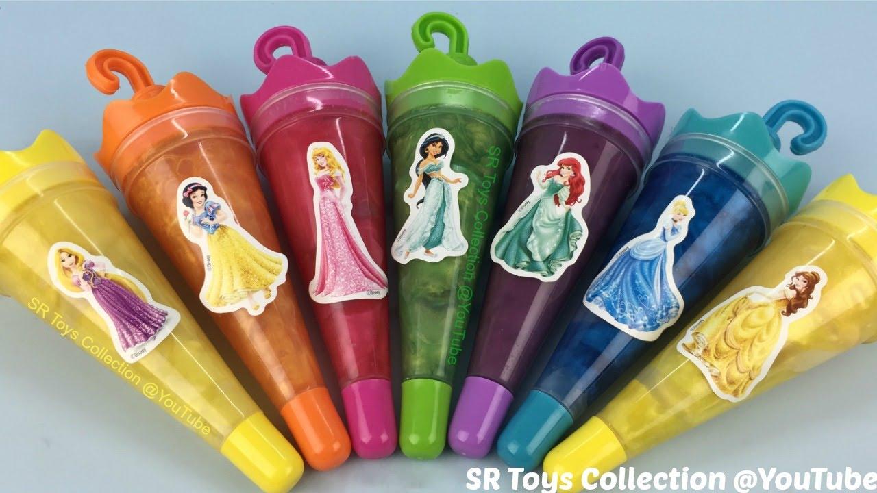Clay slime surprise toys youtube - Nachtlicht disney princess ...