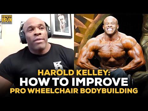 "Harold Kelley On Improving Wheelchair Bodybuilding: ""We're Here But It Feels Like We're Not Here"""