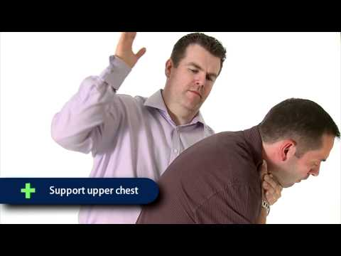 First Aid Training - Choking - Adult & Child