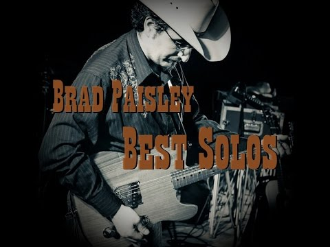 Brad Paisley's Best Guitar Solos by Andrea Cesone FREE TAB!!