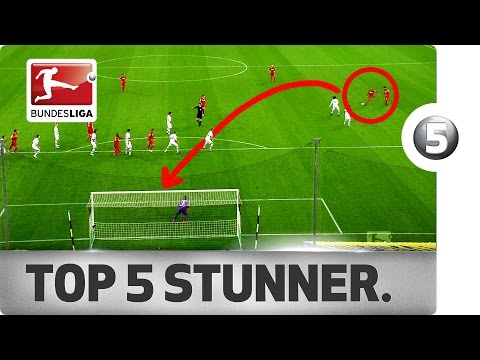 Best Long Range Goals of 2016/17 So Far ... - Douglas Costa, Serge Gnabry & Co.