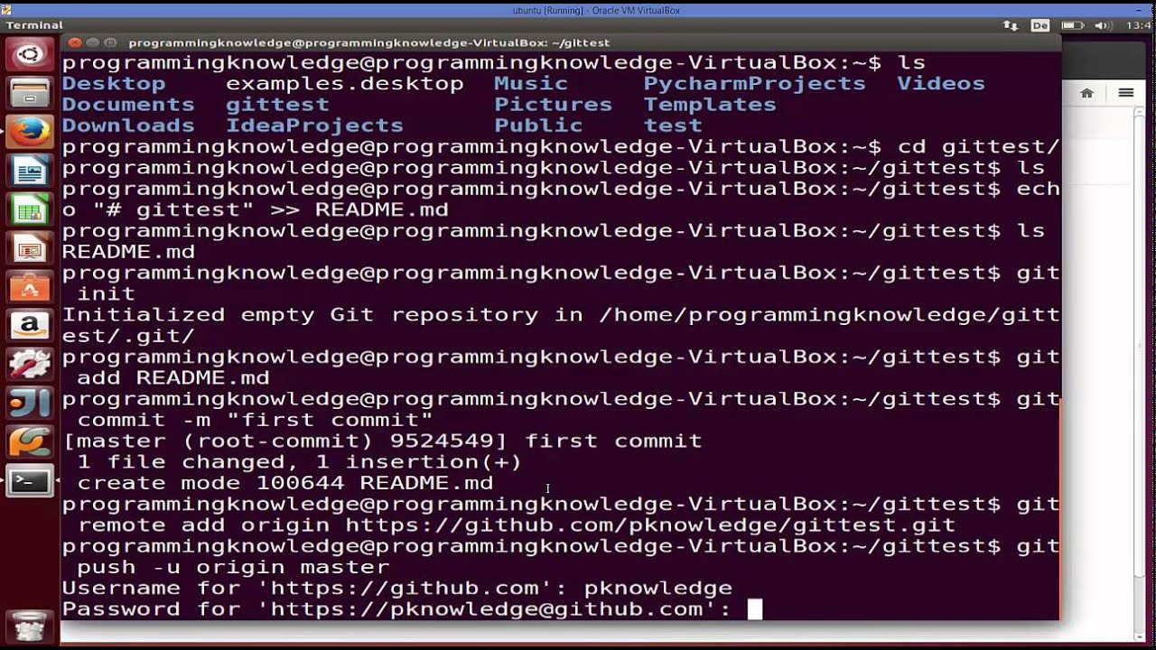 How to Install and Configure Git and Repositories on GitHub on Ubuntu Linux