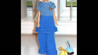 Barbie Crochet Clothes, Dress