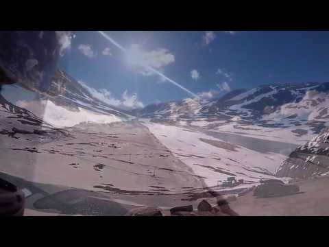 BMW k1200s Stryn to Otta Camping Norway touring Part 1
