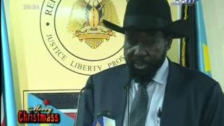 Christmas And New Year Message From South Sudan President Kiir
