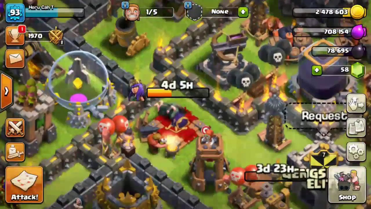 Clash of clans th9 lavaloonion farming attack strategy 2017 without clash of clans th9 lavaloonion farming attack strategy 2017 without queen publicscrutiny Image collections