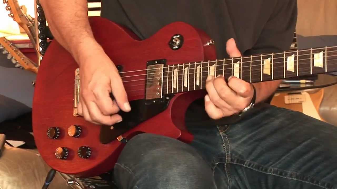 2010 Gibson Les Paul Studio worn cherry Part2