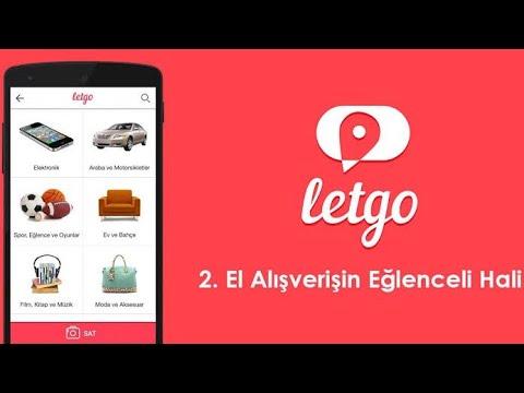 letgo nasil kullanilir 2 el esya sat