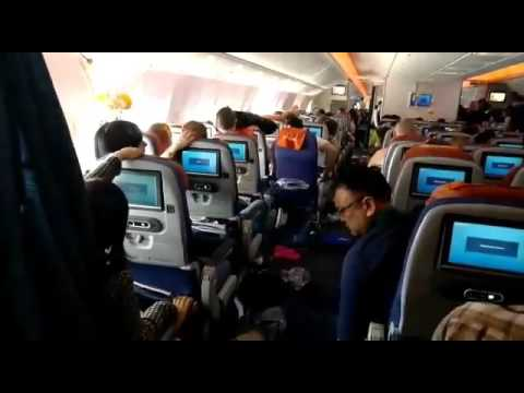 Accident on board of plane Moscow to Bangkok