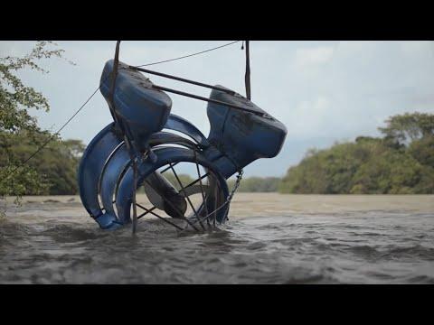 Turbina Hidrocinética - Energía Limpia