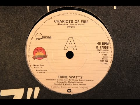 Ernie Watts ‎– Chariots Of Fire (1981)
