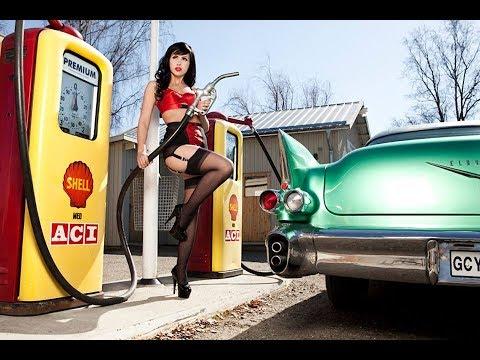 девушки и машины в стиле пин ап. часть 2