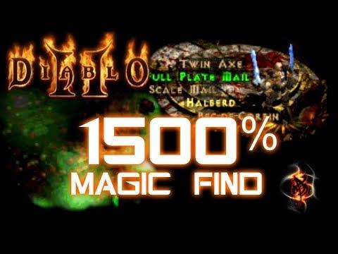1500% Magic Find - Diablo 2