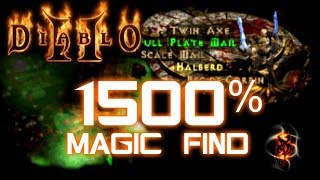1500% Magic Find - Diablo 2