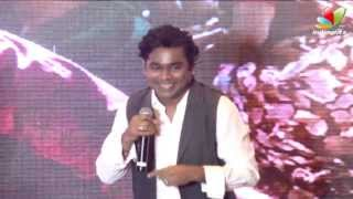 AR Rahman speaks about his working experience in Mariyaan | Dhanush, Bharat Bala, Parvathi Menon