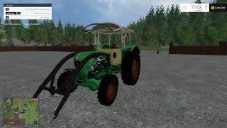 Heute stelle ich euch den D 5505 V 1.0 Mod für Landwirtschafts Simulator 15