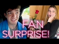 AARON CARPENTER SURPRISES BIGGEST FAN | BEFORE I FALL
