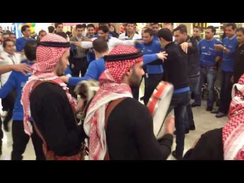 Jordanian Folklore Music @ Galleria Mall - 1st November 2013