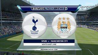 FIFA 16 - Tottenham Hotspur vs. Manchester City @ White Hart Lane