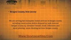 Dumpster Rental Bergen County NJ