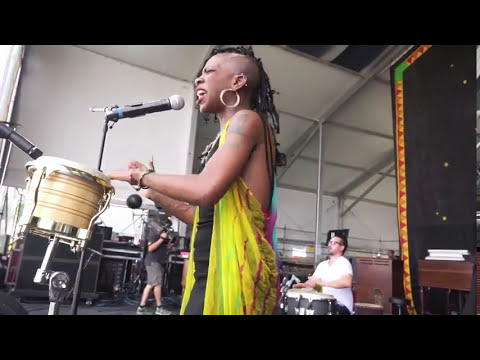 New Orleans Jazz Fest  Cole Williams Band performs