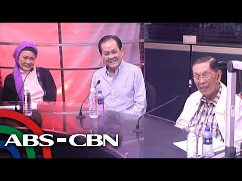Bandila: Enrile, Gutoc, at Osmeña, sumalang sa 'Ikaw Na Ba?'