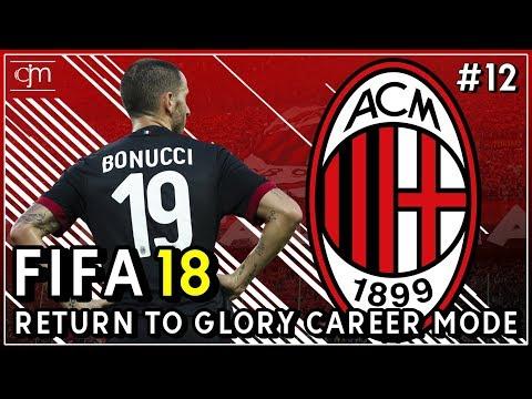 FIFA 18 AC Milan Career Mode: Tumbangnya Salah Satu Pilar Penting Rossoneri #12