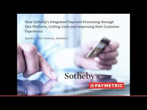 Paymetric's Integrated ERP Ecommerce Credit Card Processing Solutions for Sotheby's