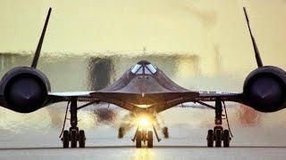 Стратегический сверхзвуковой разведчик ВВС США SR-71